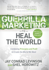 Guerrilla Marketing to Heal the World—front cover
